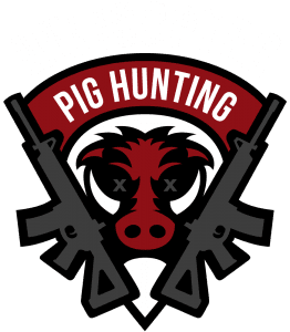 helicopter pig hunting logo